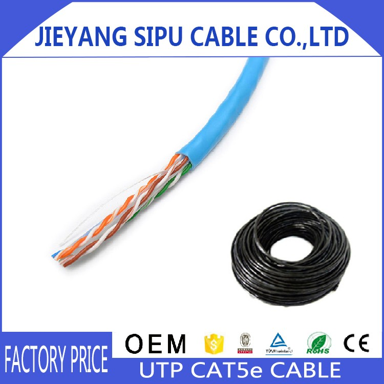 Fire protection networking cable cat5e cable utp/ftp/sftp 305m/roll LAN CABLE