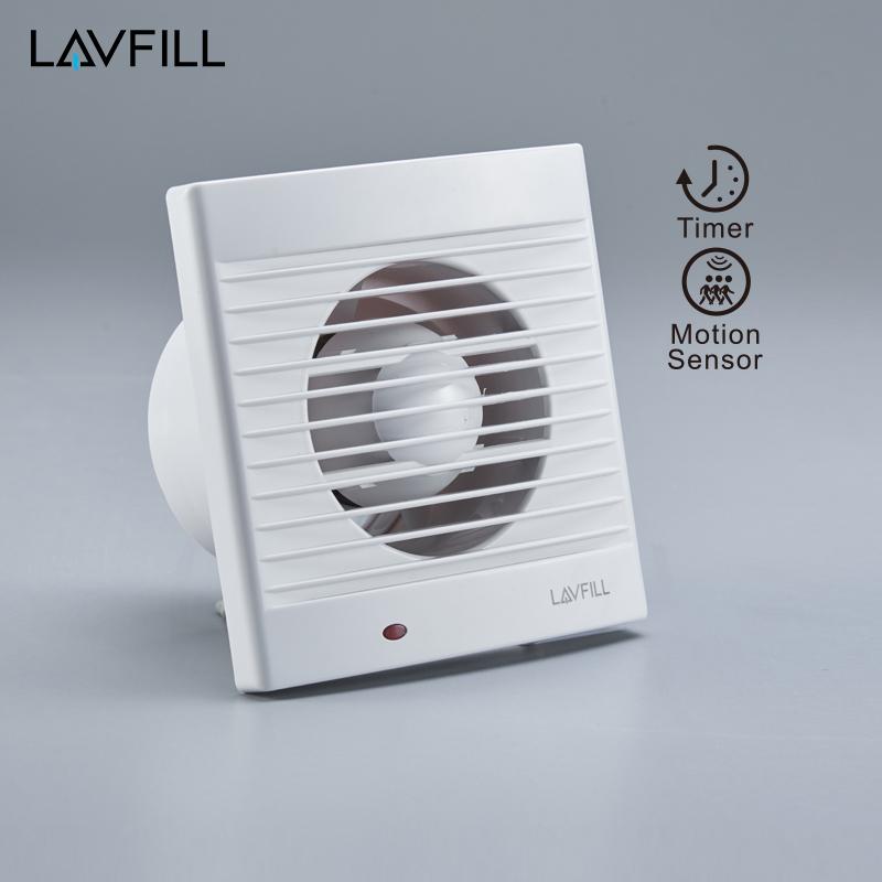 Bathroom extract fan timer