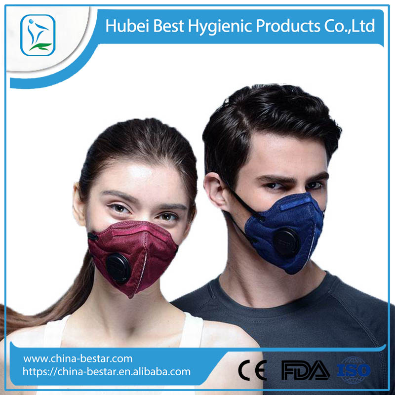 Free sample 3M N95 anti smog mask with respirator wholesale