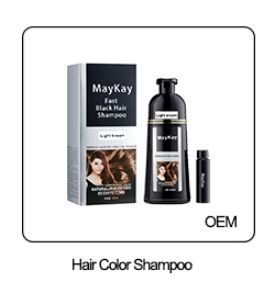High quality hair dye magic hair colored protected argan oil shampoo