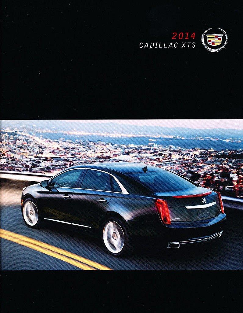 2014 Cadillac XTS 60-page Original Dealer Car Sales Brochure Catalog