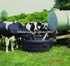 Open top large water tank plastic horse water trough cattle trough