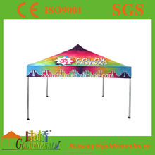 Best selling football tailgate full colour printing canopy tent with protable aluminium frame