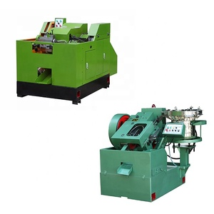 dywall screw making machine/cold header and thread rolling machine/drywall screw making line