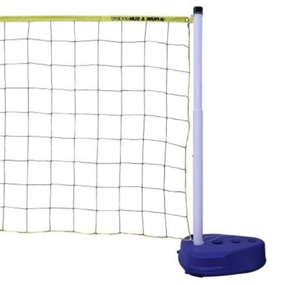 Inground Pool Volleyball Set Above Ground Swimming Pool In Deck Water Volleyball Portable Backyard Outdoor Net And Stand Set & Eboo by Easy2Find.