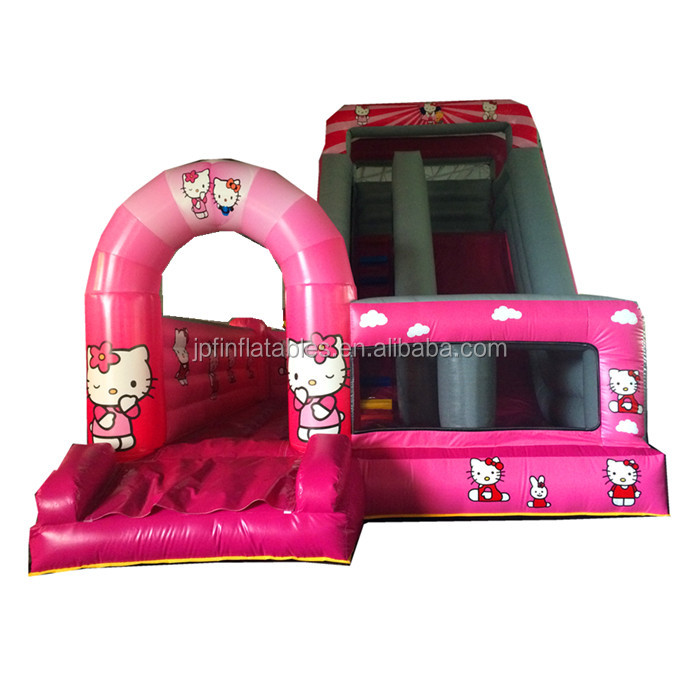 2019 commercial quality PVC 0.55mm tarpaulin 18oz  inflatable dog dry slide for amusement park rent
