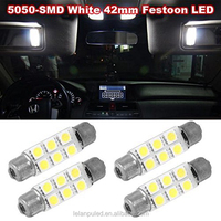 festoon 5050 6smd led 42mm 12v Car Interior Dome Map Reading Lights