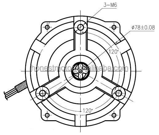 220v 50hz Ac Single Phase Asynchronous Motor