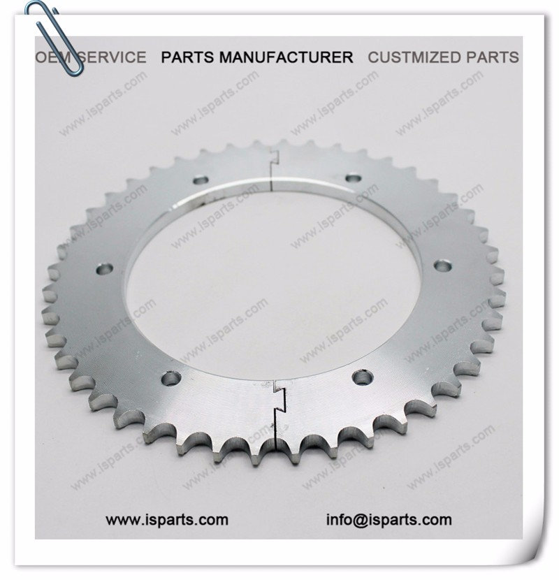 Go kart split sprocket 44T #428 chain sprocket
