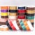 Ribbon factory wholesale custom solid color polyester single faced satin ribbon