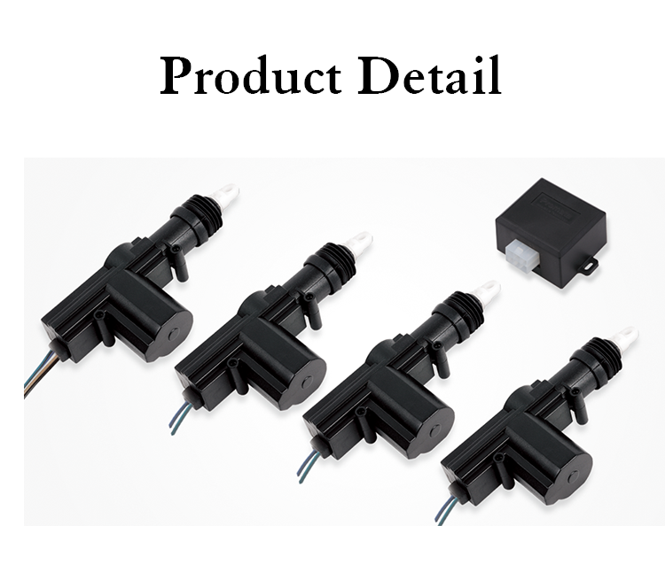 12v/24v Car Central Lock,Universal Door Locking Actuator