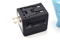 iBelieve New Arrival Multi-Nation Travel Adapter with USB Port
