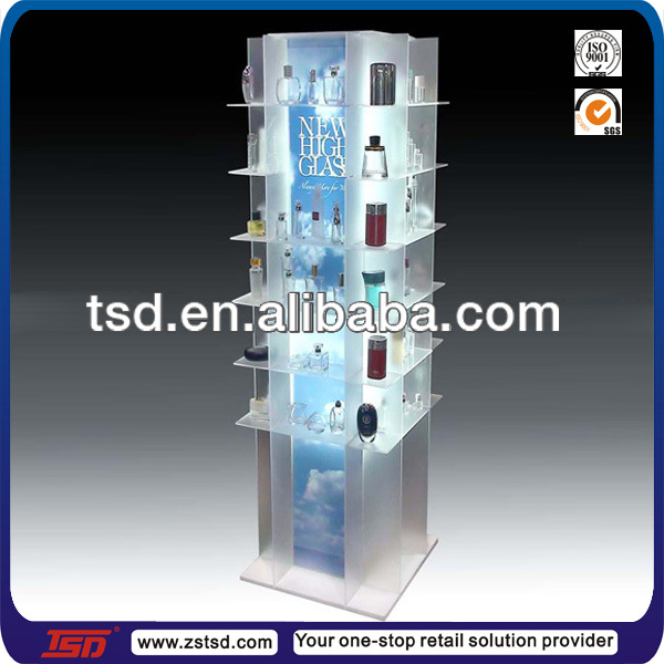 Tsd-a914 Custom Retail Shop 3 Tier Acrylic Perfume Display Stand ...
