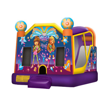New Commercial Cheap 4 in 1 Inflatable Bouncer Combo For Sale