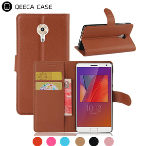 Premium Mobile cell phone case for Lenovo ZUK Edge flip cover book style leather wallet card slot / pocket