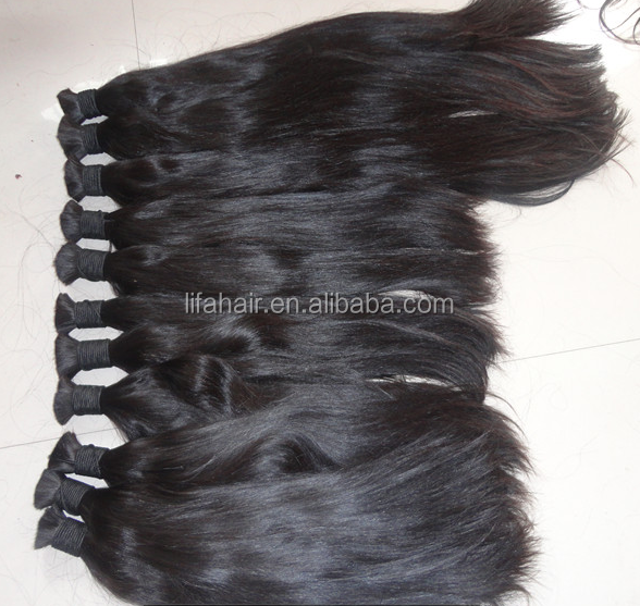 Top quality unprocessed soft feeling tangle free virgin remy xpression hair braids
