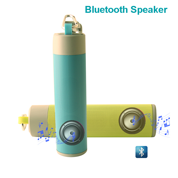 2018 New Product Portable USB Active Stereo Mini Speaker/Power Bank/Flashlight/MP3 Player/Selfie stick