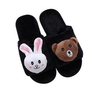 50621ca08289 Fuzzy Animal Slipper