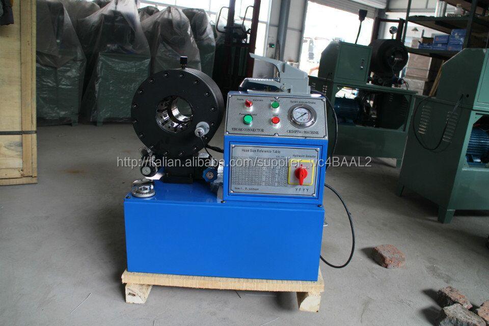 Pressa per tubi oleodinamici attrezzature di produzione for Pressa per tubi idraulici usata