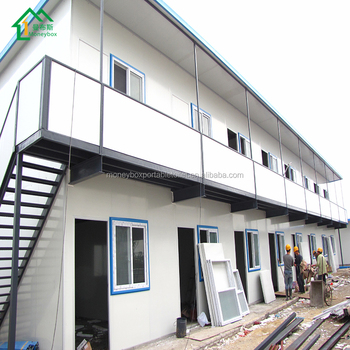 Villas Prefabricated House Good prefab container homes insulated real estate well designed labor camp small prefab houses