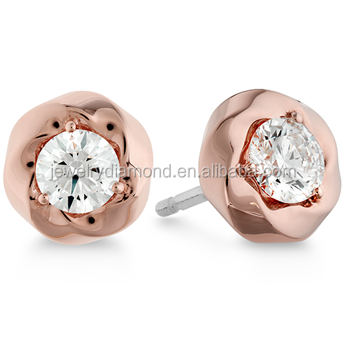 Real 0.45 18k rose gold watches ForeverBonds bold watches what is march birthstone platinum engagement earrings