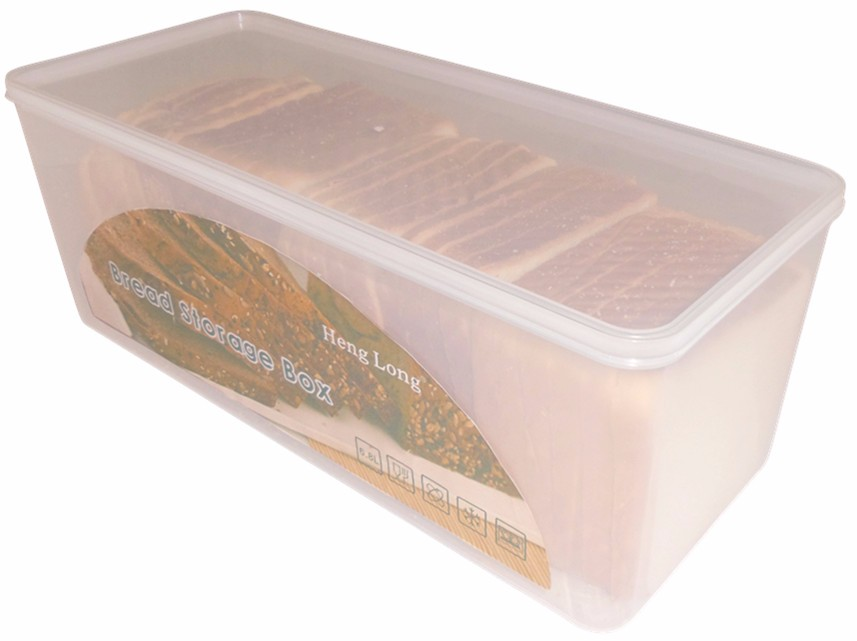Factory directly sale transparent plastic bread box/ cake / bread use food container