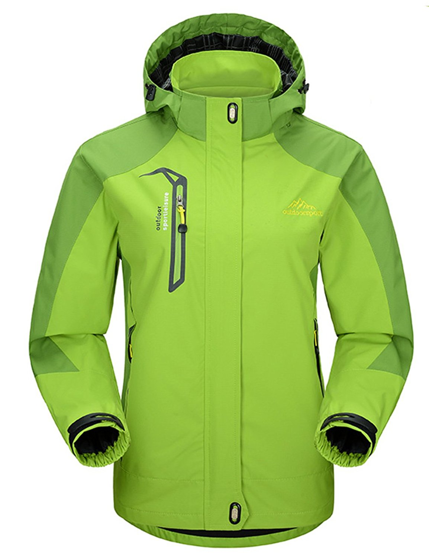 63990b63e Get Quotations · Yifun Outdoor Womens Waterproof Windproof Jacket Raincoat  Ski Jacket