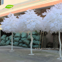 BTR034 GNW Outdoor Artificial Ficus Tree White Banyan Cheap Christmas Ornaments Wholesale