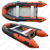 CE certificate high quality HYPALON Aluminum Floor rib inflatable boat with customized color
