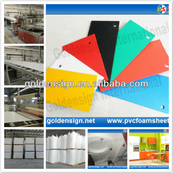 pvc foam core sheet/hot size 1.22m*2.44m/biggest manufacturer in Shanghai