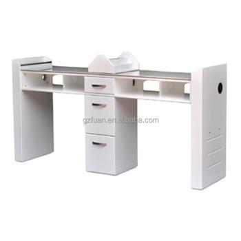 Nail Salon Bar Whole Furniture Baking Varnish Material Tech Table Double Manicure Desk