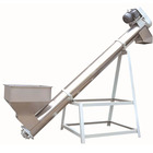 Incline screw conveyor hoppers for sale