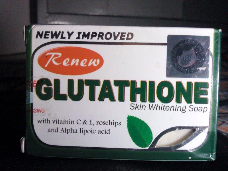 savon glutathione