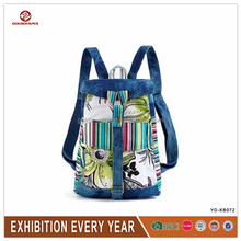 high quality fashion cotton traveling backpack wholesales