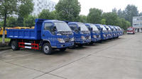 NEW good quality small dump garbage truck sale