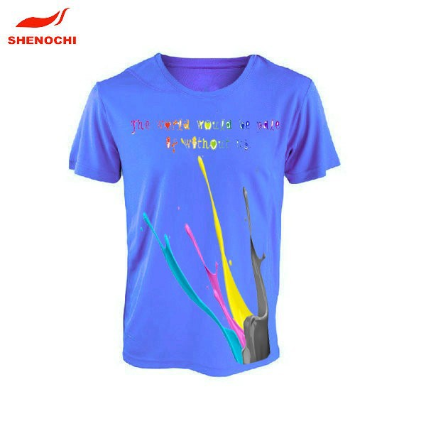 2018 Custom Design Polyester Tshirt Slogan T-shirts