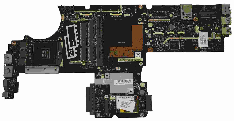 HP EliteBook 8540p 8540W Motherboard