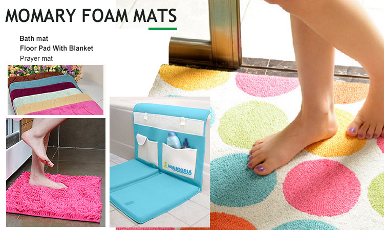 round edge fast rollable curved bath mat