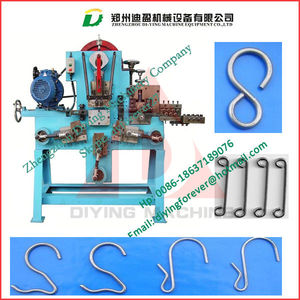 Wire Hook Strapping Belt Buckle Forming Bending Machine
