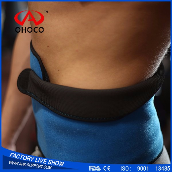 neoprene sports protector/neoprene weight loss belt/orthopaedic neoprene belt