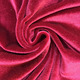Wholesale 93% polyester 7% spandex velour plain fabric for dress home textile FLX8001 821