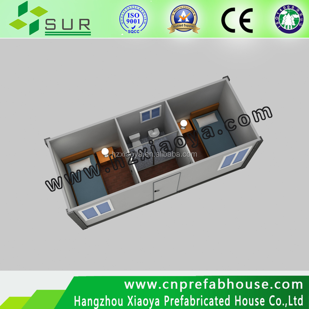 wooden bungalow used 40 high cube container house china supplier