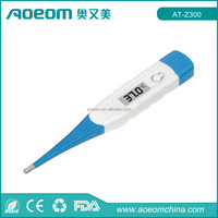 Rapid Flexible Tip Waterproof Digital Thermometer Digital Clinical Thermometer