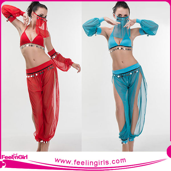 Fashion Cheer Latin Hip Hop Dance Costumes For Women