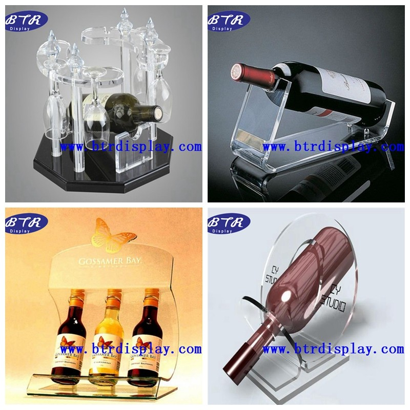 Custom acrylic wine stopper display holder