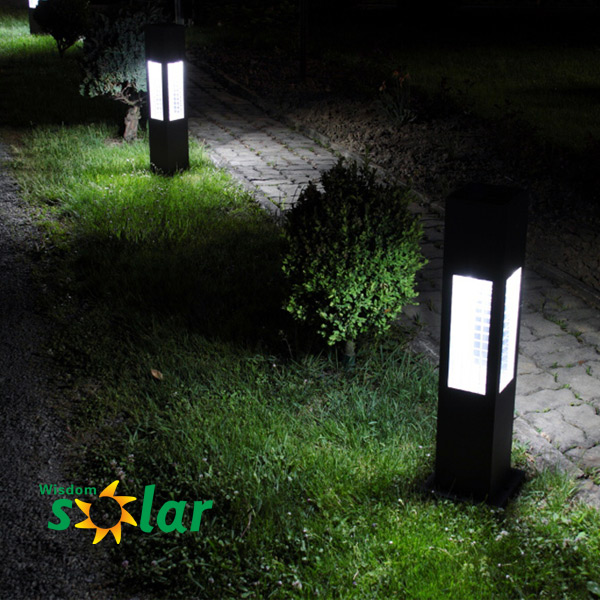China Supplier Aluminum Garden Solar Light Led Solar Garden Light ...