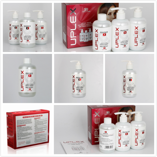 Best Selling Private label hair treatment Uplex 3 Travel Kit Manufacturer