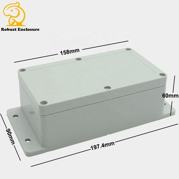 Wall mounting Outdoor IP65 ABS plastic small waterproof and weatherproof electrical instrument junction enclosure box 158*90*60m