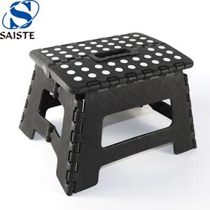 Factory direct 9 Inches height plastic folding queening stool