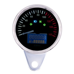Electric Instrument Cluster High Technology Motorcycle Aftermarket  Speedometer